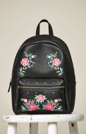 Embroidered Backpack at Pacsun