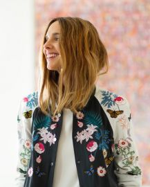 Embroidered Bomber Jacket at Faconnable