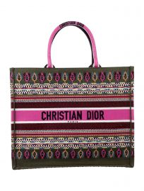 Embroidered Book Tote Bag by Christian Dior at The Real Real