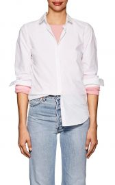 Embroidered Cotton Poplin Blouse at Barneys