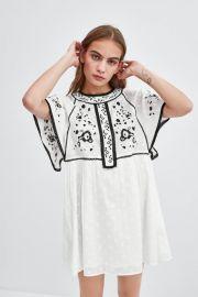 Embroidered Dress by Zara at Zara