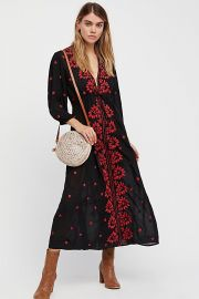 Embroidered Fable Dress by Free People at Free People