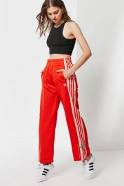 Embroidered Floral Track Pant at Urban Outfitters