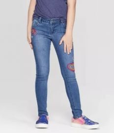 Embroidered Heart Skinny Jeans by Cat  Jack at Target at Target
