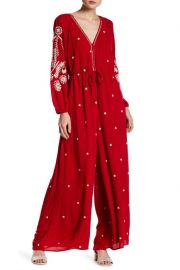 Embroidered Jumpsuit by Free People at Amazon