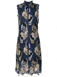 Embroidered Lace Midi Dress by See by Chloe at Farfetch