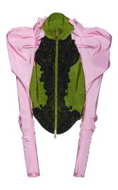 Embroidered Silk Bustier Jacket by Dsquared2  at Moda Operandi