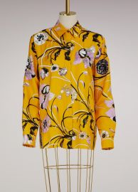 Embroidered Silk Pajama Shirt by Emilio Pucci at 24 Sevres