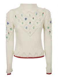 Embroidered Wool Sweater by Philosophy di Lorenzo Serafini at Italist