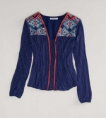 Embroidered cardigan from AE at American Eagle