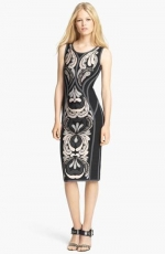 Embroidered dress by Herve Leger at Nordstrom