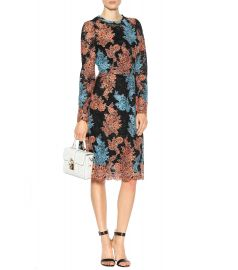 Embroidered lace dress by Dolce & Gabbana at Mytheresa