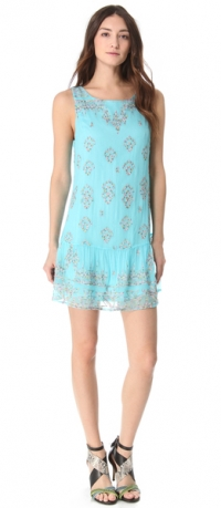Embroidered shift dress by Twelfth street by Cynthia Vincent at Shopbop