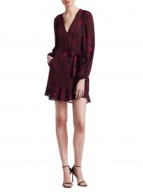 Embry Wrap Mini Dress at Saks Off 5th