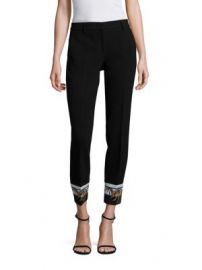 Emilio Pucci - Wool-Blend Printed Pants at Saks Fifth Avenue