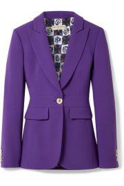 Emilio Pucci - Wool-blend blazer at Net A Porter