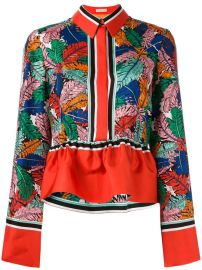 Emilio Pucci Frill Detail Collared Blouse  960 - Buy SS17 Online - Fast Delivery  Price at Farfetch