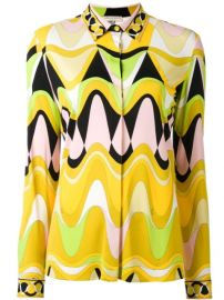Emilio Pucci Triangle Printed Shirt - Farfetch at Farfetch