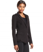Emily Thornes black studded blazer at Macys at Macys