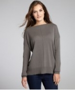 Emilys Autumn Cashmere sweater in brown at Bluefly