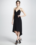 Emilys black dress by Rebecca Taylor at Neiman Marcus