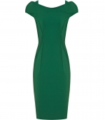 Emilys green dress from Reiss at Reiss