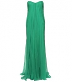 Emily's green gown by Alexander Mcqueen at My Theresa