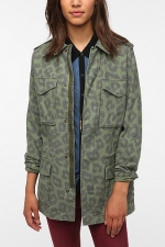 Emily's green jacket at Urban Outfitters at Urban Outfitters