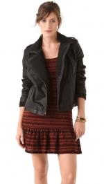 Emily's vegan leather jacket at Shopbop at Shopbop