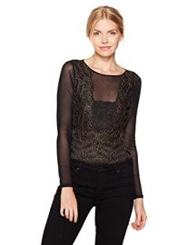 Emm Lace Bodysuit by Guess at Amazon