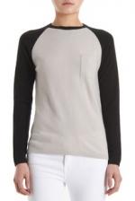 Emma's baseball sweater at Barneys