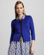 Emmas blue cardigan at Neiman Marcus at Neiman Marcus