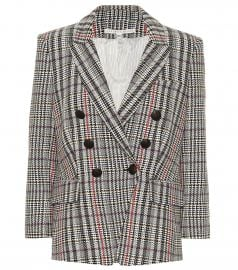 Empire Houndstooth Dickey blazer at Mytheresa
