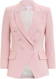 Empire Pink Blazer at Intermix