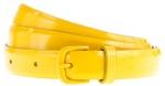 Enameled belt in golden sunflower at J Crew at J. Crew