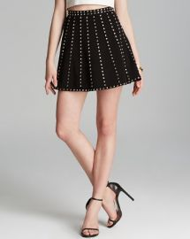 Endless Rose Skirt - Studded Flare at Bloomingdales