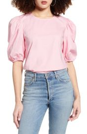 English factory puff sleeve top at Nordstrom