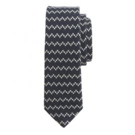 English wool tie in zigzag at J. Crew