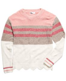 Epic Threads Big Girls Striped Chenille Sweater  Created For Macy s   Reviews - Sweaters - Kids - Macy s at Macys