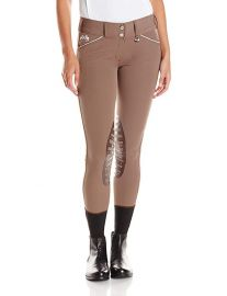 Equine Couture Brittni Knee Patch Breech at Amazon