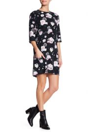 Equipment Aubrey Floral Silk Dress at Nordstrom Rack