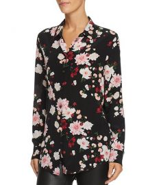Equipment Essential Floral Silk Shirt at Bloomingdales