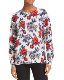 Equipment Melanie Floral Cashmere Sweater at Bloomingdales
