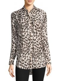 Equipment - Daddy Leopard Print Blouse at Saks Fifth Avenue
