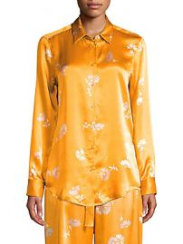 Equipment - Essential Silk Print Blouse at Saks Off 5th