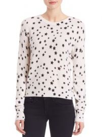 Equipment - Kate Moss For Equipment Ryder Star-Print Cashmere Sweater at Saks Off 5th