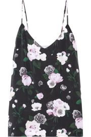 Equipment   Layla floral-print washed-silk camisole at Net A Porter