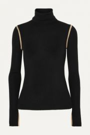 Equipment - Mourelle ribbed wool turtleneck sweater at Net A Porter