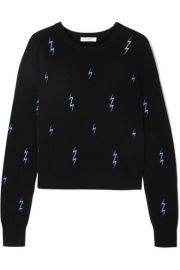 Equipment - Shirley embroidered cashmere sweater at Net A Porter