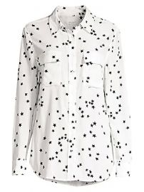 Equipment - Starry Night Slim Signature Shirt at Saks Fifth Avenue